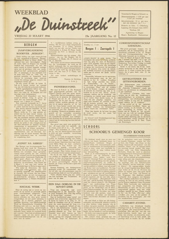 De Duinstreek 1946-03-22