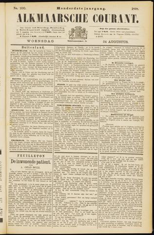 Alkmaarsche Courant 1898-08-24