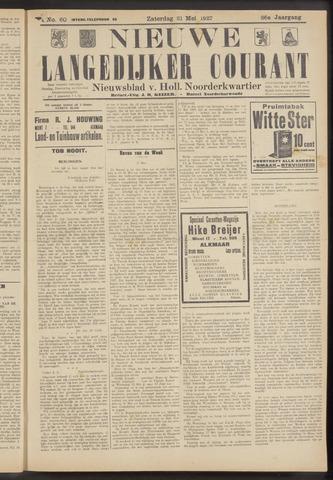 Nieuwe Langedijker Courant 1927-05-21