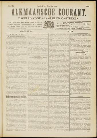 Alkmaarsche Courant 1909-07-07