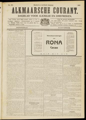 Alkmaarsche Courant 1912-11-28