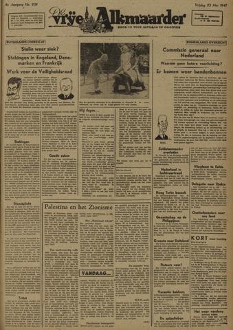 De Vrije Alkmaarder 1947-05-23