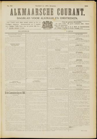 Alkmaarsche Courant 1909-07-05