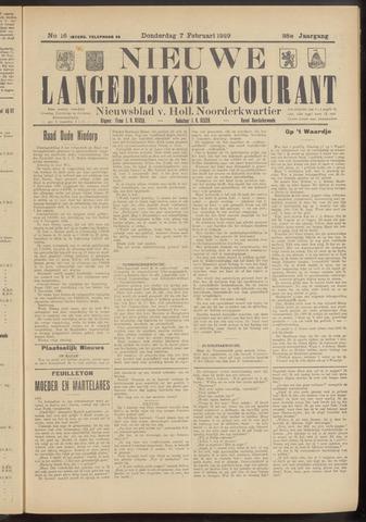 Nieuwe Langedijker Courant 1929-02-07