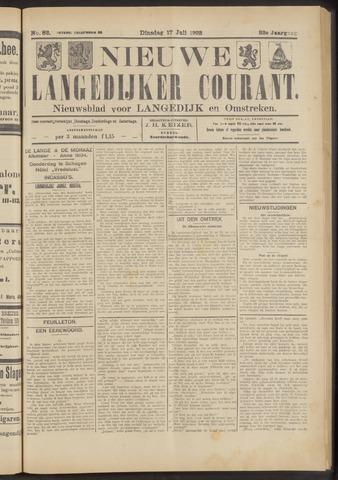 Nieuwe Langedijker Courant 1923-07-17