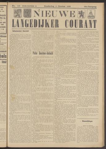 Nieuwe Langedijker Courant 1926-10-21