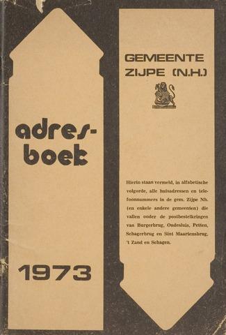 Adresboek van Zijpe 1973-01-01