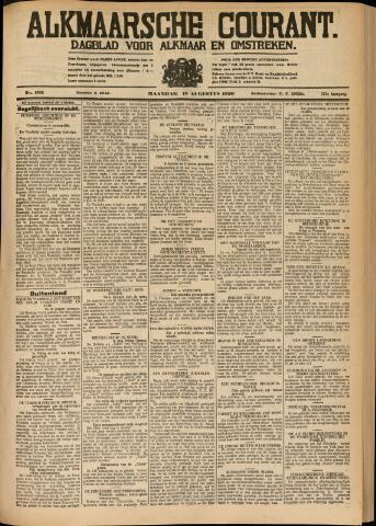 Alkmaarsche Courant 1930-08-18