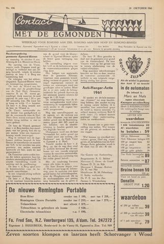 Contact met de Egmonden 1961-10-19