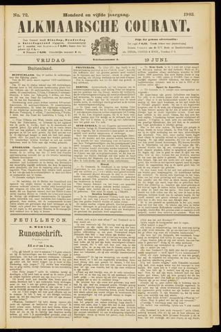 Alkmaarsche Courant 1903-06-19