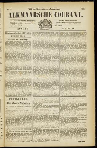Alkmaarsche Courant 1893-01-15
