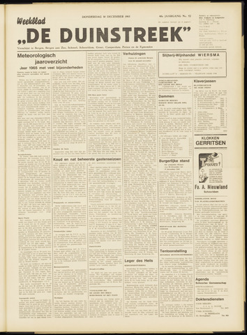 De Duinstreek 1965-12-30