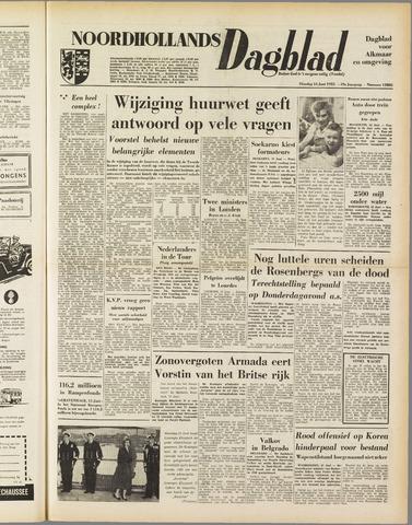 Noordhollands Dagblad : dagblad voor Alkmaar en omgeving 1953-06-16