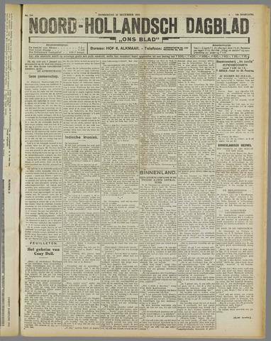 Ons Blad : katholiek nieuwsblad voor N-H 1921-12-22
