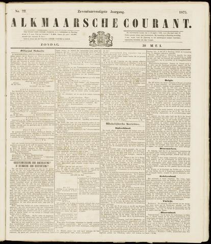 Alkmaarsche Courant 1875-05-30
