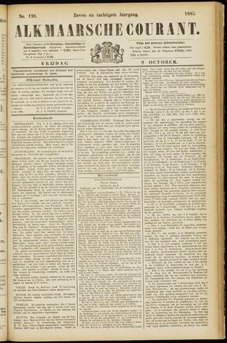 Alkmaarsche Courant 1885-10-09