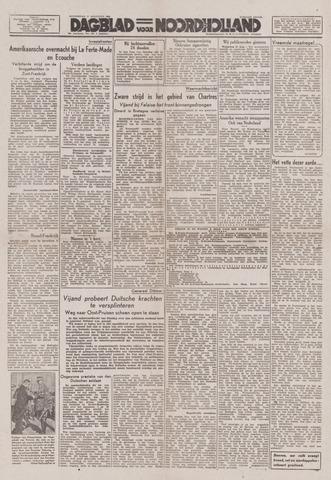 Dagblad Noord-Holland, Schager editie 1944-08-17