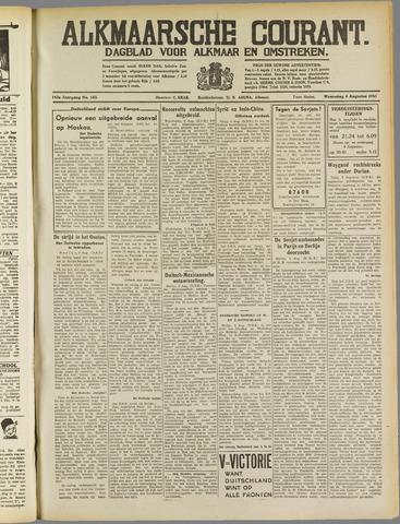 Alkmaarsche Courant 1941-08-06