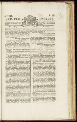 Alkmaarsche Courant 1844-06-24