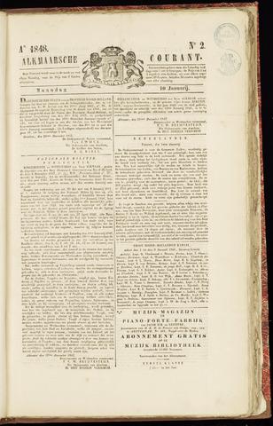 Alkmaarsche Courant 1848-01-10