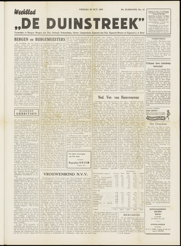 De Duinstreek 1955-10-28