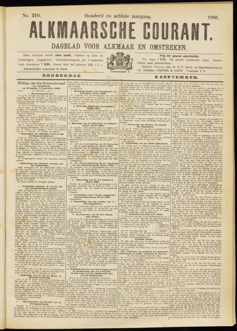 Alkmaarsche Courant 1906-09-06
