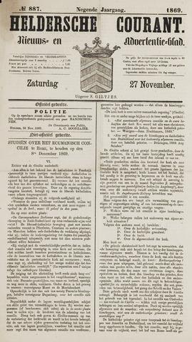 Heldersche Courant 1869-11-27