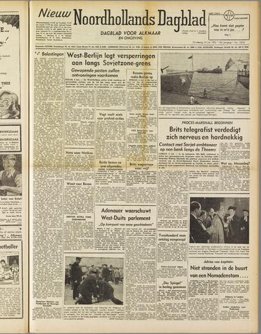 Nieuw Noordhollandsch Dagblad : voor Alkmaar en omgeving 1952-07-10