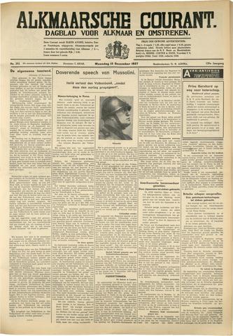 Alkmaarsche Courant 1937-12-13
