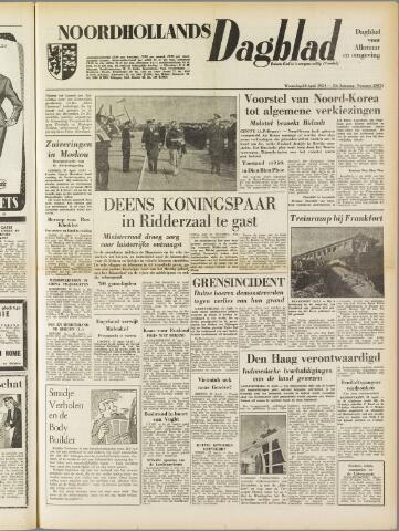 Noordhollands Dagblad : dagblad voor Alkmaar en omgeving 1954-04-28