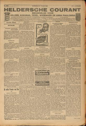 Heldersche Courant 1926-01-23