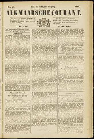 Alkmaarsche Courant 1886-08-15