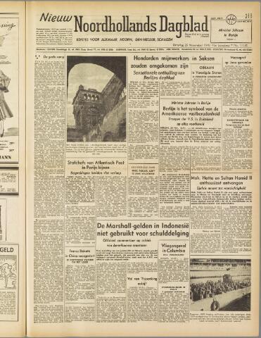 Nieuw Noordhollandsch Dagblad : voor Alkmaar en omgeving 1949-11-29