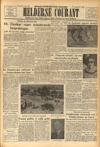 Heldersche Courant 1952-08-07