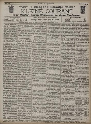 Vliegend blaadje : nieuws- en advertentiebode voor Den Helder 1908-08-15