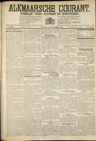 Alkmaarsche Courant 1930-12-23