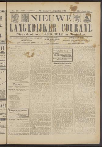 Nieuwe Langedijker Courant 1920-08-18