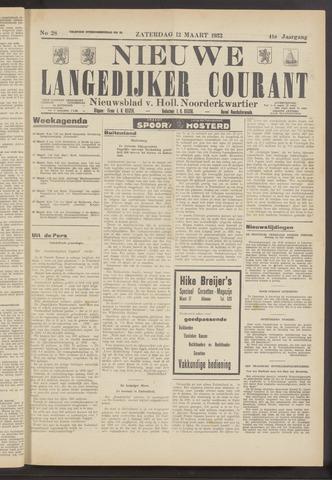 Nieuwe Langedijker Courant 1932-03-12