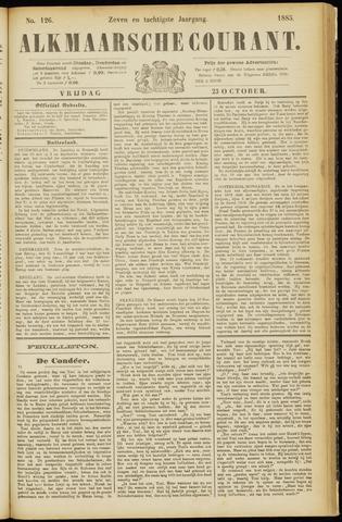 Alkmaarsche Courant 1885-10-23