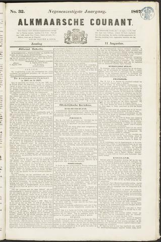 Alkmaarsche Courant 1867-08-11