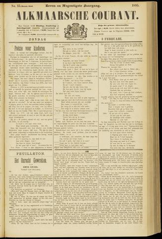 Alkmaarsche Courant 1895-02-03
