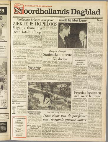 Noordhollands Dagblad : dagblad voor Alkmaar en omgeving 1963-05-29