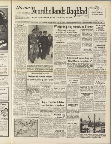 Nieuw Noordhollandsch Dagblad : voor Alkmaar en omgeving 1950-08-25