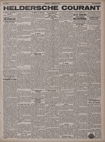 Heldersche Courant 1916-02-01