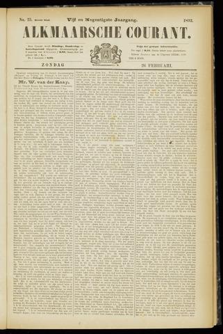 Alkmaarsche Courant 1893-02-26