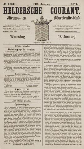 Heldersche Courant 1871-01-18