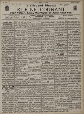 Vliegend blaadje : nieuws- en advertentiebode voor Den Helder 1906-11-17
