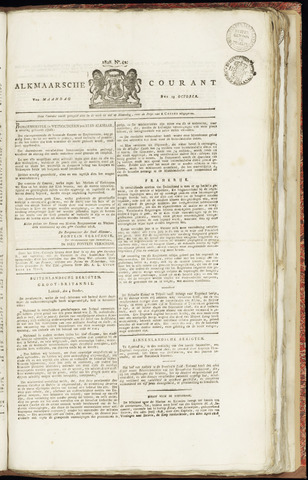 Alkmaarsche Courant 1828-10-13