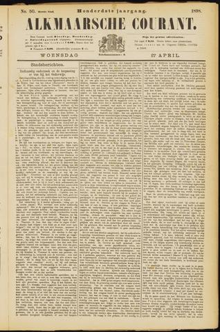 Alkmaarsche Courant 1898-04-27