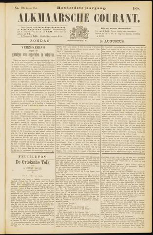 Alkmaarsche Courant 1898-08-14